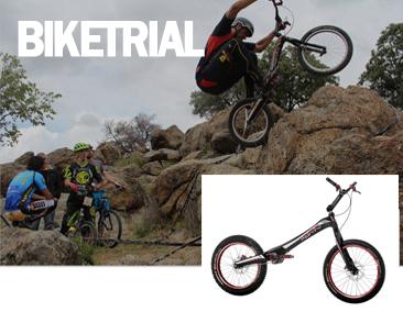 bicicletas de biketrial
