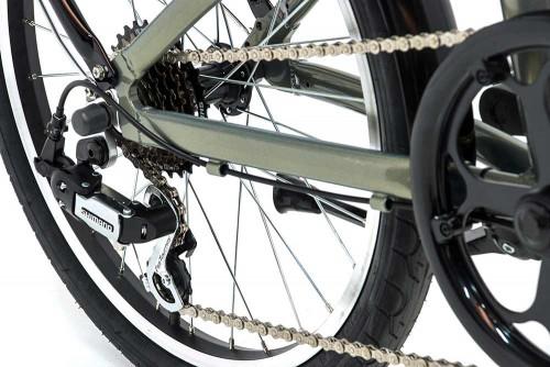 bicicleta plegable fusion monty cambio