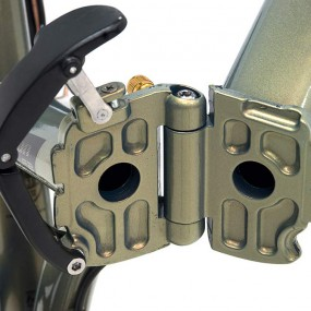 bicicleta plegable fusion monty cierre