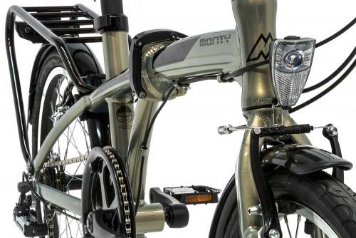bicicleta plegable fusion monty cuadro
