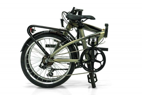 bicicleta plegable fusion monty plegada monty