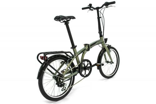 bicicleta plegable fusion monty vista trasera