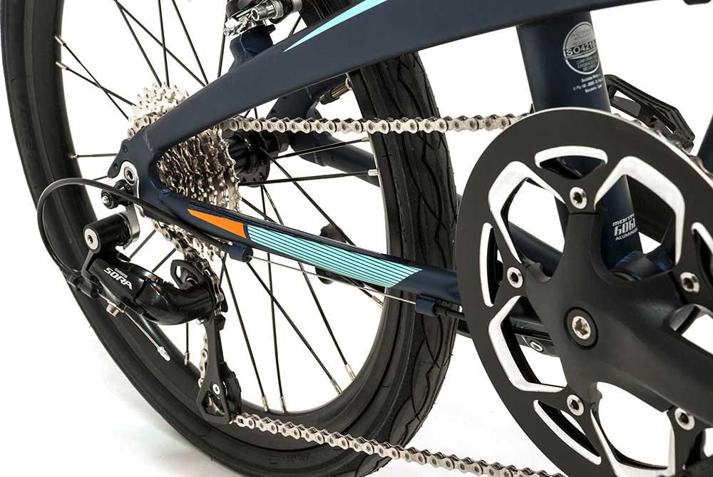 bicicleta plegable pulse cambio monty