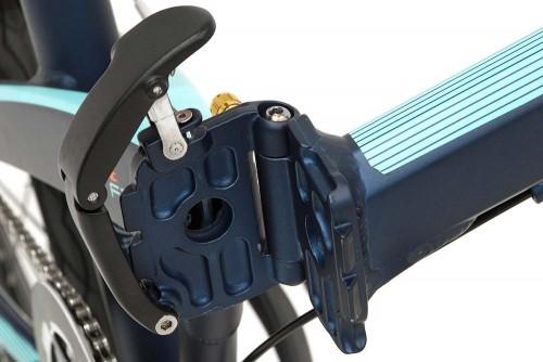 bicicleta plegable pulse cierre monty