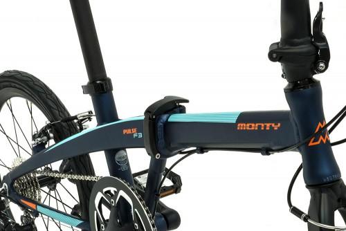 bicicleta plegable pulse cierres cuadro monty