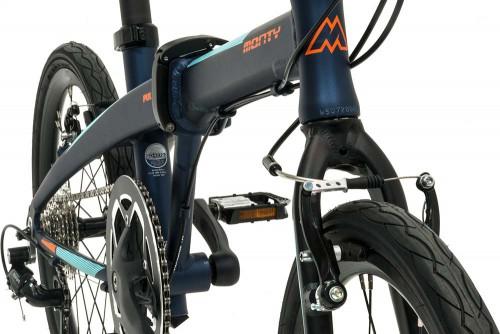 bicicleta plegable pulse cuadro horq monty
