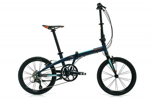 bicicleta plegable pulse monty