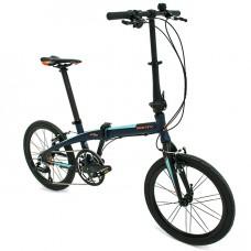 bicicleta plegable pulse monty vista del