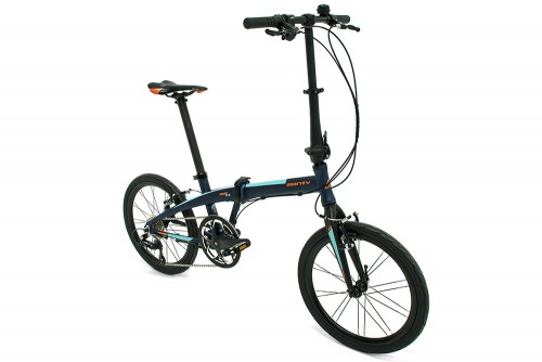 bicicleta plegable pulse monty vista del