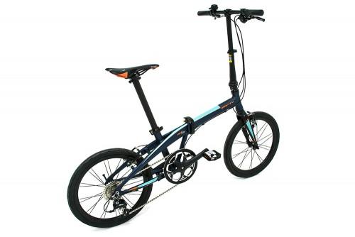 bicicleta plegable pulse monty vista tras