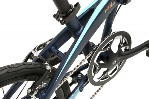 bicicleta plegable pulse plato monty