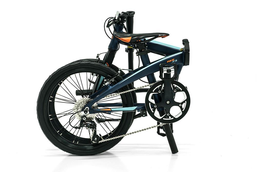 bicicleta plegable pulse plegada monty