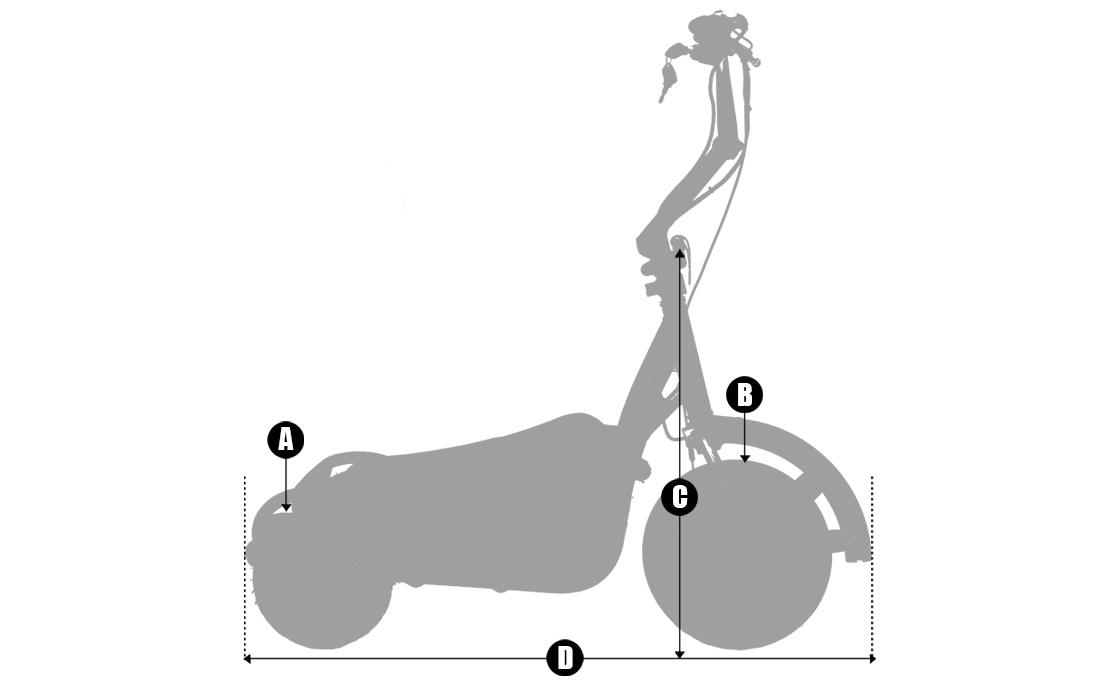 Geometría triciclo Dpie3 Monty