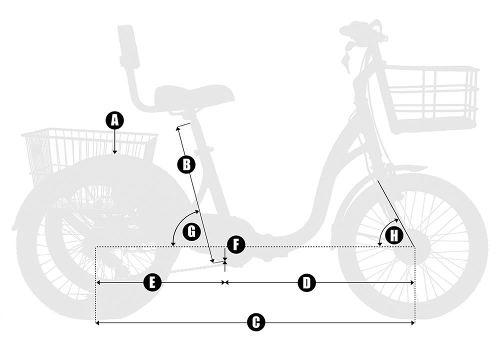 Medidas triciclo Monty