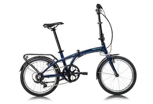 Bicicleta plegable Source Azul Oscuro