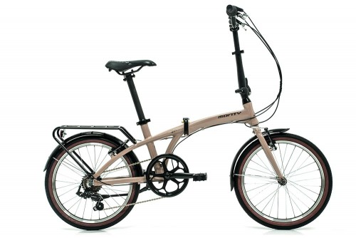 bicicleta plegable source beige monty