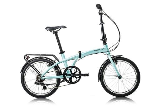 Bicicleta plegable Source Turquesa