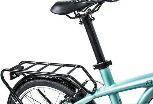 Bicicleta plegable Source Turquesa | Portabultos