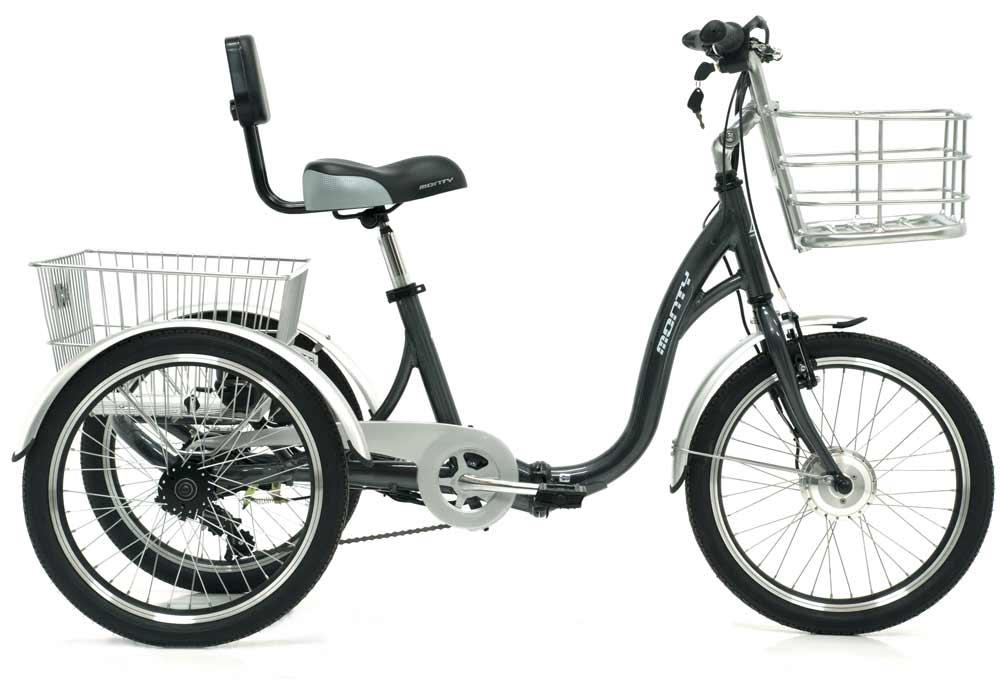 Triciclo eléctrico Monty E-132