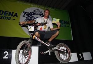 Vaclav Kolar campeon del mundo de BikeTrial