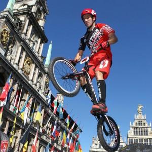 Ion Areitio World cup Trial Belgium