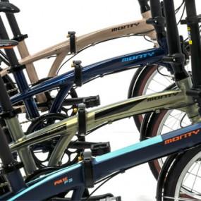 bicis plegables monty