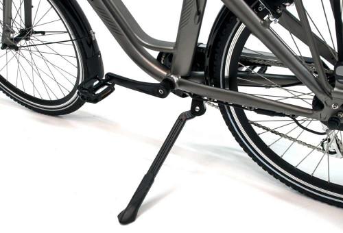 Bicicleta eléctrica Elegance Monty caballete