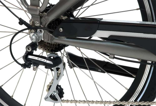 Bicicleta eléctrica Elegance Monty cambio