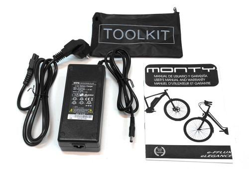Bicicleta eléctrica Elegance Monty cargador