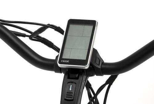 Bicicleta eléctrica Elegance Monty display
