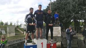 Campeona de Trial en Labége, Francia