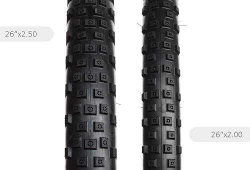 """Neumáticos de Trial ProRACE de 26"""""""
