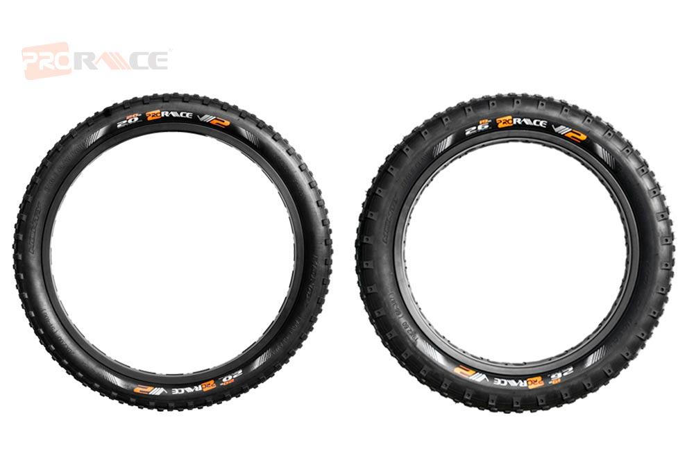 """Neumáticos de 19"""" y 20"""" para Trial"""