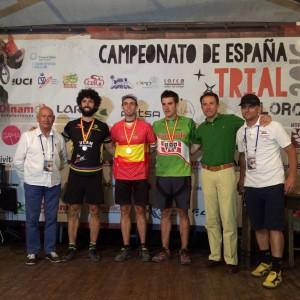Campeonato de Trial de España, Francia y Suiza