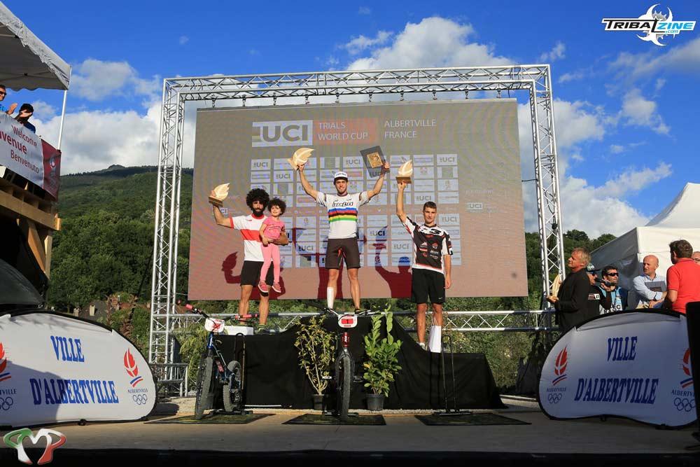 3ª posición de Lucien Leiser en el podio| Fotografía de Rémy Durville - Tribal Zine