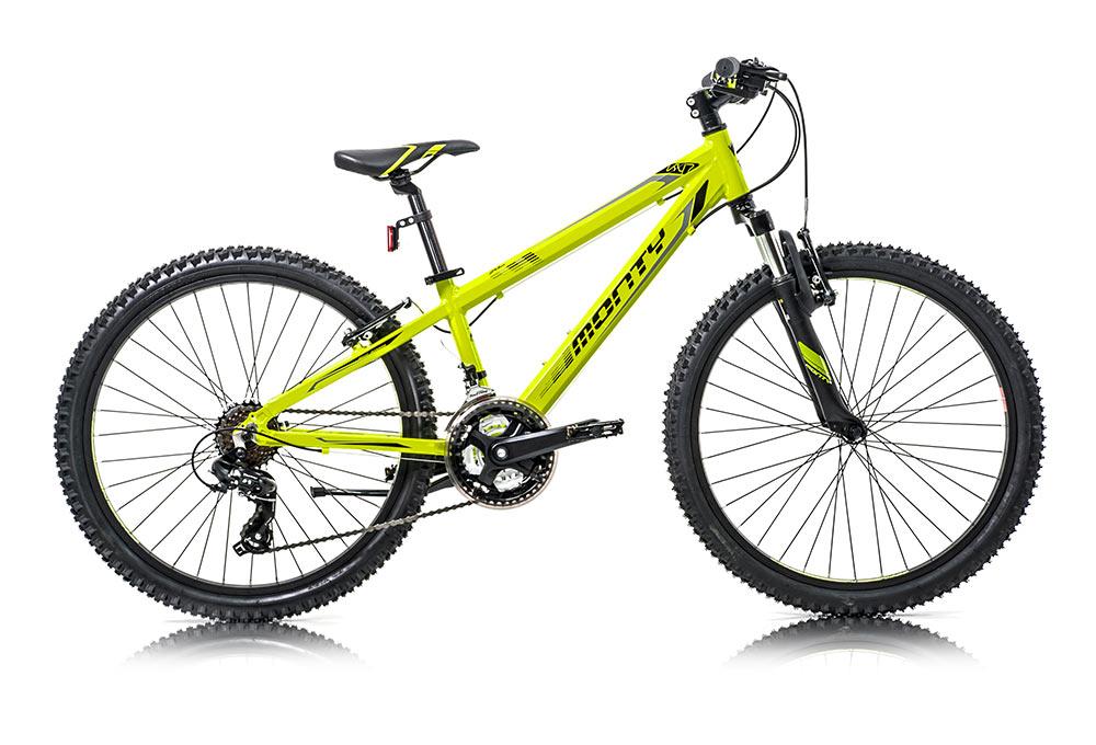 Bicicleta de montaña para niños KY7 Amarilla