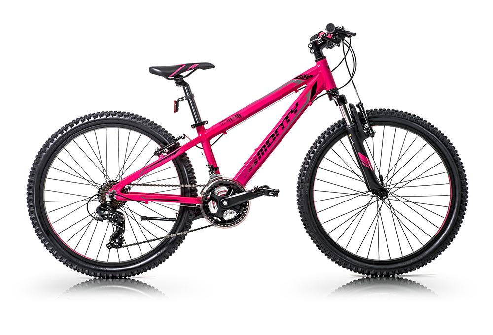 Bicicleta de montaña para niños KY7 Rosa
