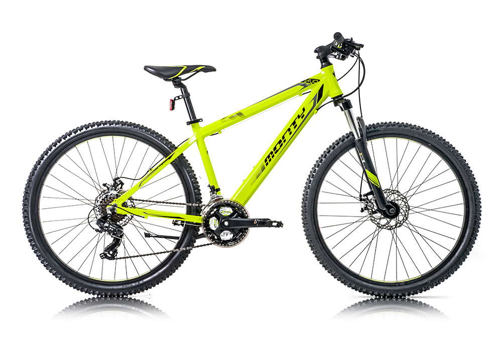 Bicicleta de montaña para niños KY9 amarilla