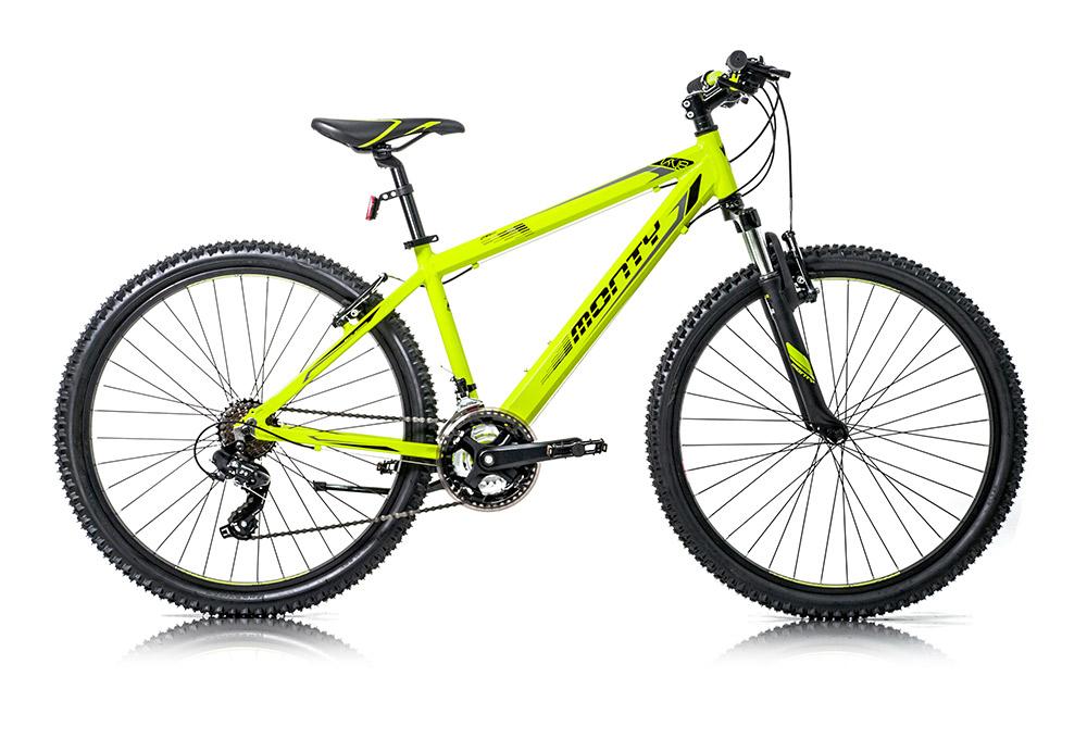 """Bicicleta de montaña para niños KY8 color amarillo, talla 16"""""""