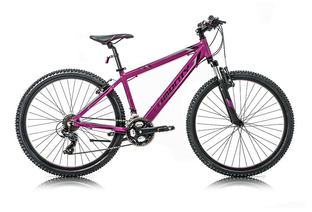 """Bicicleta de montaña para niños KY8 color lila, talla 16"""""""