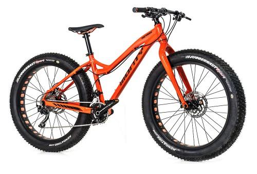 Bicicleta de montaña Fattrack | Vista delantera