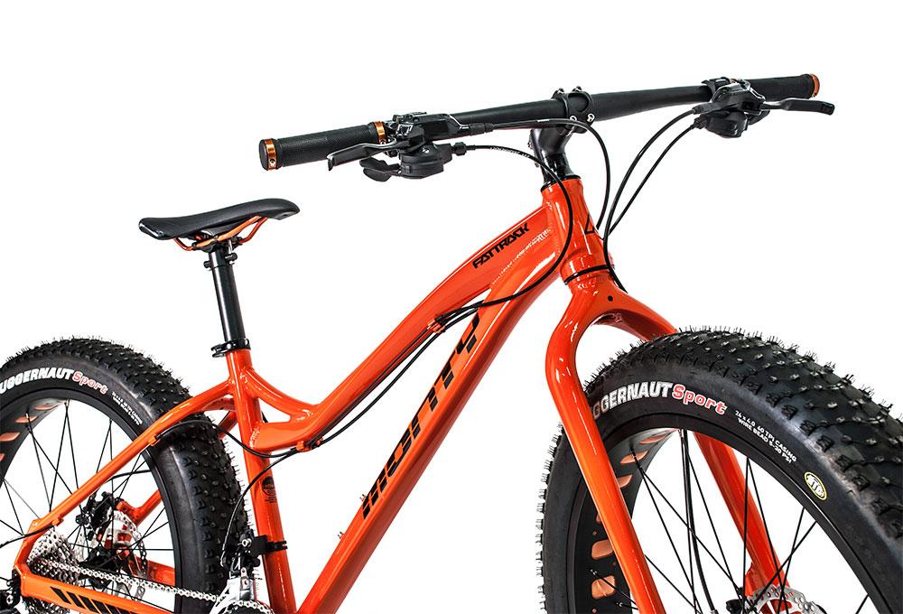 Bicicleta de montaña Fattrack | Vista general