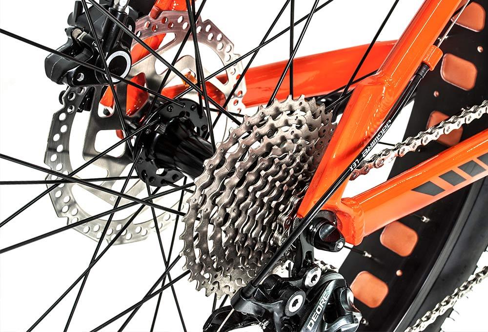 Bicicleta de montaña Fattrack | Piñón