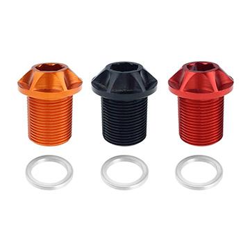 Nuevos tornillos ProRACE para bielas. Colores rojo, naranja, negro