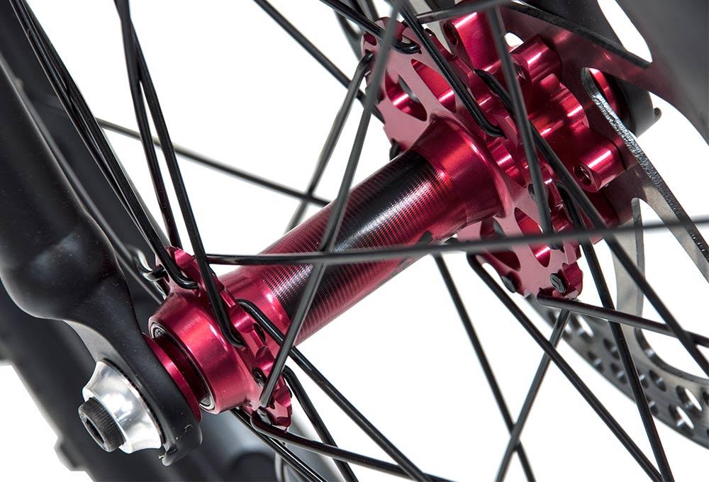 Bicicleta de Trial KAIZEN 220 | Buje delantero